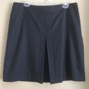 Banana Republic Charcoal A Line Skirt, Size 14